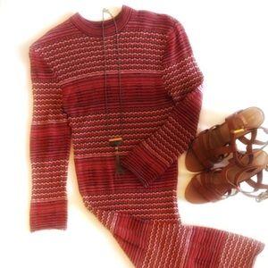 Free People Groovy Knit Lightweight Sweater Dress